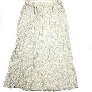 Flax flowy maxi skirt